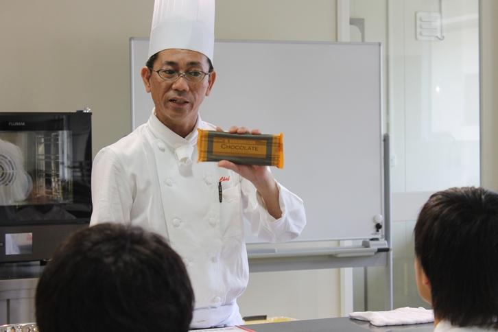 チョコレートと先生