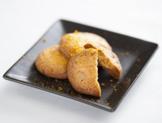 ホワイトチョコとオレンジのクッキー