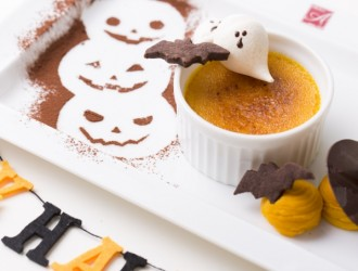 かぼちゃのクリームブリュレ