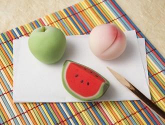 夏の果物 練りきり
