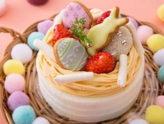イースターショートケーキ