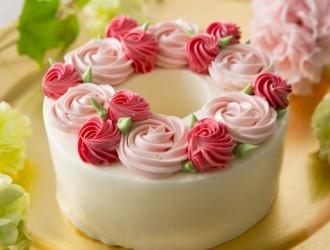 お花のシフォンケーキ