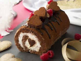 ふわふわ生チョコロールケーキ