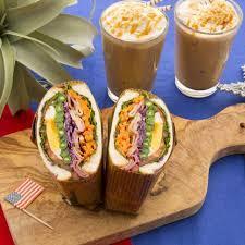 アメリカンスタイルサンドイッチ