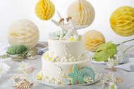 ハワイアンウェディングケーキ