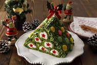 3Dクリスマスツリー ブッシュドノエル