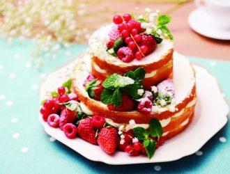 製菓理論から学ぶ《いちごのネイキッドケーキ》